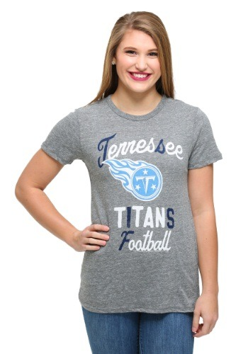 Tennessee Titans Touchdown Tri-Blend Juniors T-Shirt