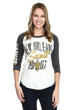 New Orleans Saints All American Juniors Raglan Shirt