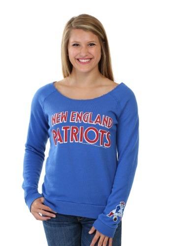 New England Patriots Champion Fleece Juniors Sweatshirt
