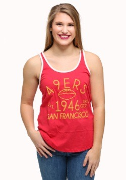 San Francisco 49ers Time Out Juniors Tank
