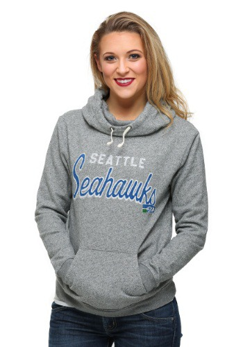 Seattle Seahawks Sunday Juniors Cowl Hoodie