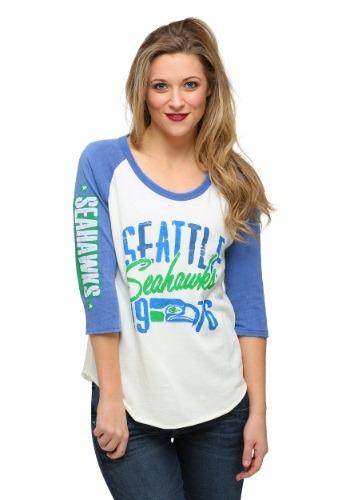 Seattle Seahawks All American Raglan Juniors