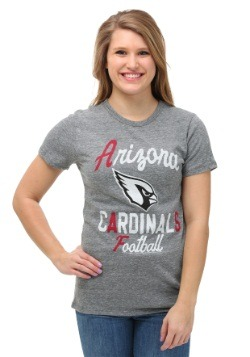 Arizona Cardinals Touchdown Tri-Blend Womens T-Shirt