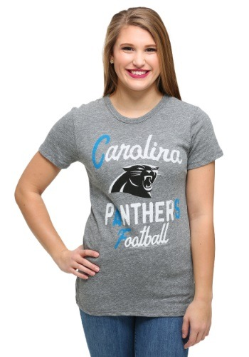 Carolina Panthers Touchdown Tri-Blend Juniors T-Shirt