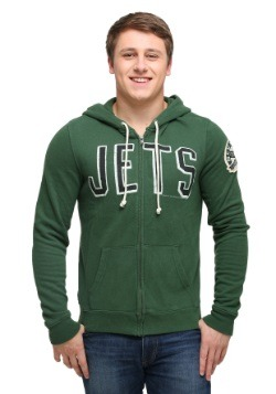 New York Jets Sunday Mens Zip Up Hoodie