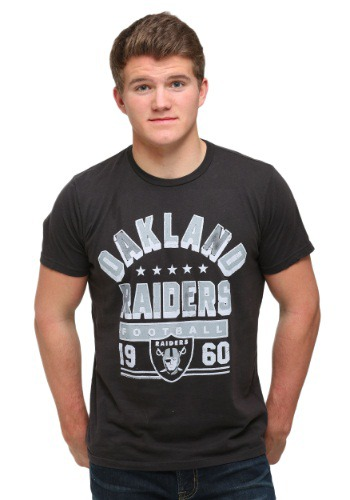 Men's Oakland Raiders Kickoff Crew T-Shirt