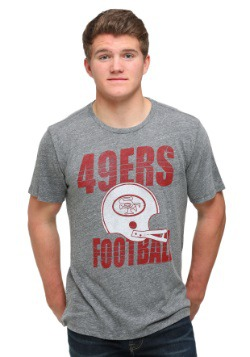 Men's San Francisco 49ers Touchdown Tri-Blend T-Shirt