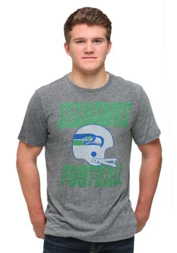 Seattle Seahawks Touchdown Tri-Blend Men's T-Shirt