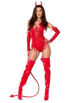Sizzle N Shine Women's Devil Costume Alt3