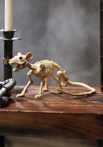 Mini Halloween Rat Skeleton Decoration