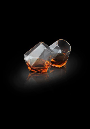Diamond Glasses 2pc Set