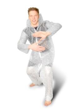 Bubble Wrap Adult Costume