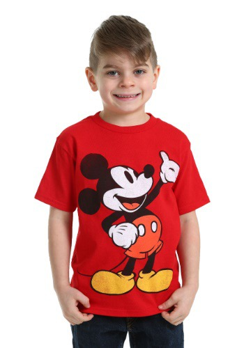 Mickey Mouse Red Boys T-Shirt