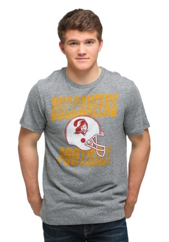 Tampa Bay Buccaneers Touchdown Tri-Blend Men's T-Shirt