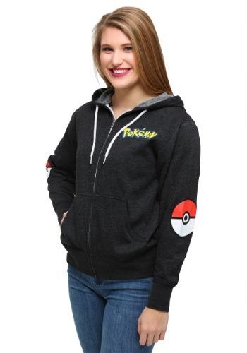 Classic Pokeball Pikachu Juniors Hoodie
