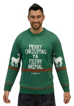 Home Alone Green Merry Christmas Ya Filthy Animal