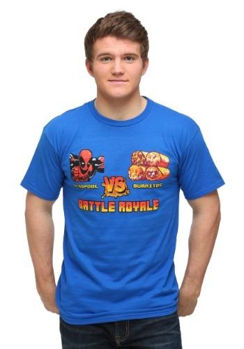 Deadpool vs Burritos Men's T-Shirt