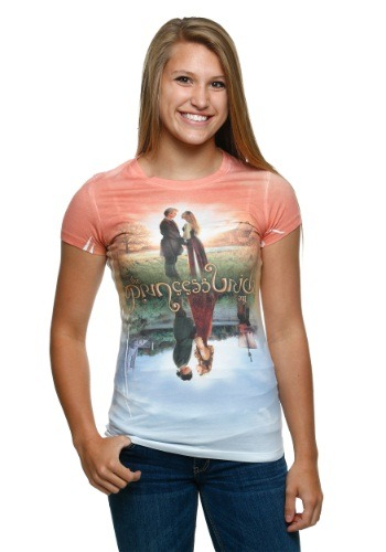 Womens Princess Bride Poster Sublimated T-Shirt