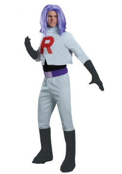 Pokemon Team Rocket James Men's Costume