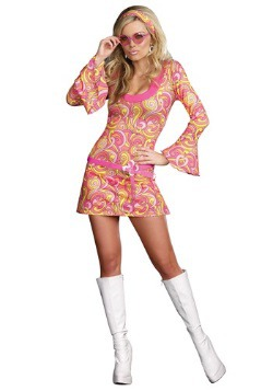 Women's Groovy Go Go Dancer Costume