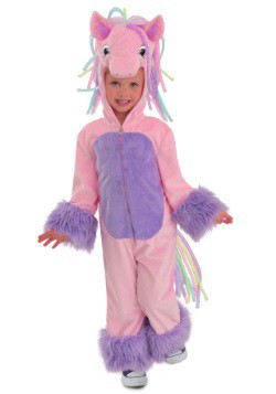 Rainbow Pony Costume For Kids
