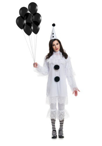 Heartbroken Clown Womens Costume