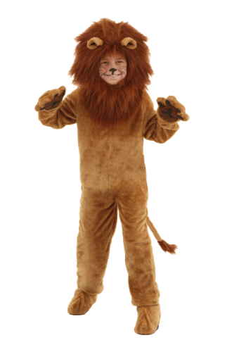 Deluxe Lion Kids Costume