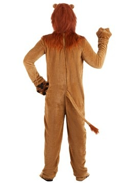 Adult Deluxe Lion Costume Alt 1