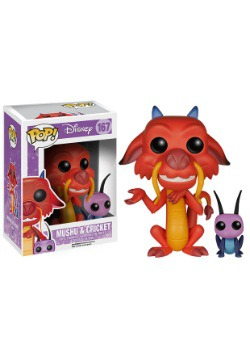 POP! Mushu and Cricket Vinyl Figure