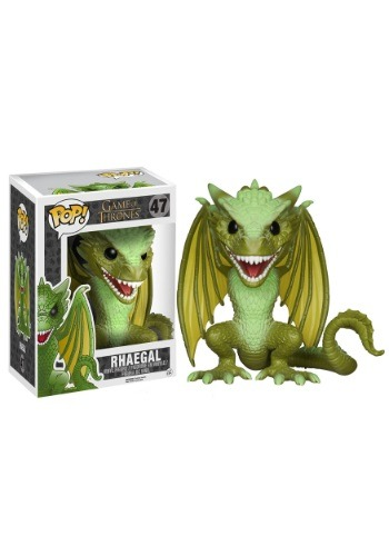 """POP! Game of Thrones 6"""" Rhaegal Vinyl Figure"""