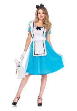 Womens Classic Alice Tea Length Costume