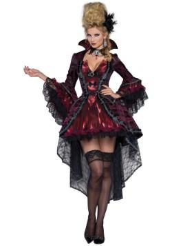 Elegant Victorian Vamp Womens Costume