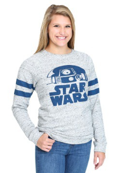 Star Wars Rebel Scum Stripes Juniors Burnout Sweatshirt