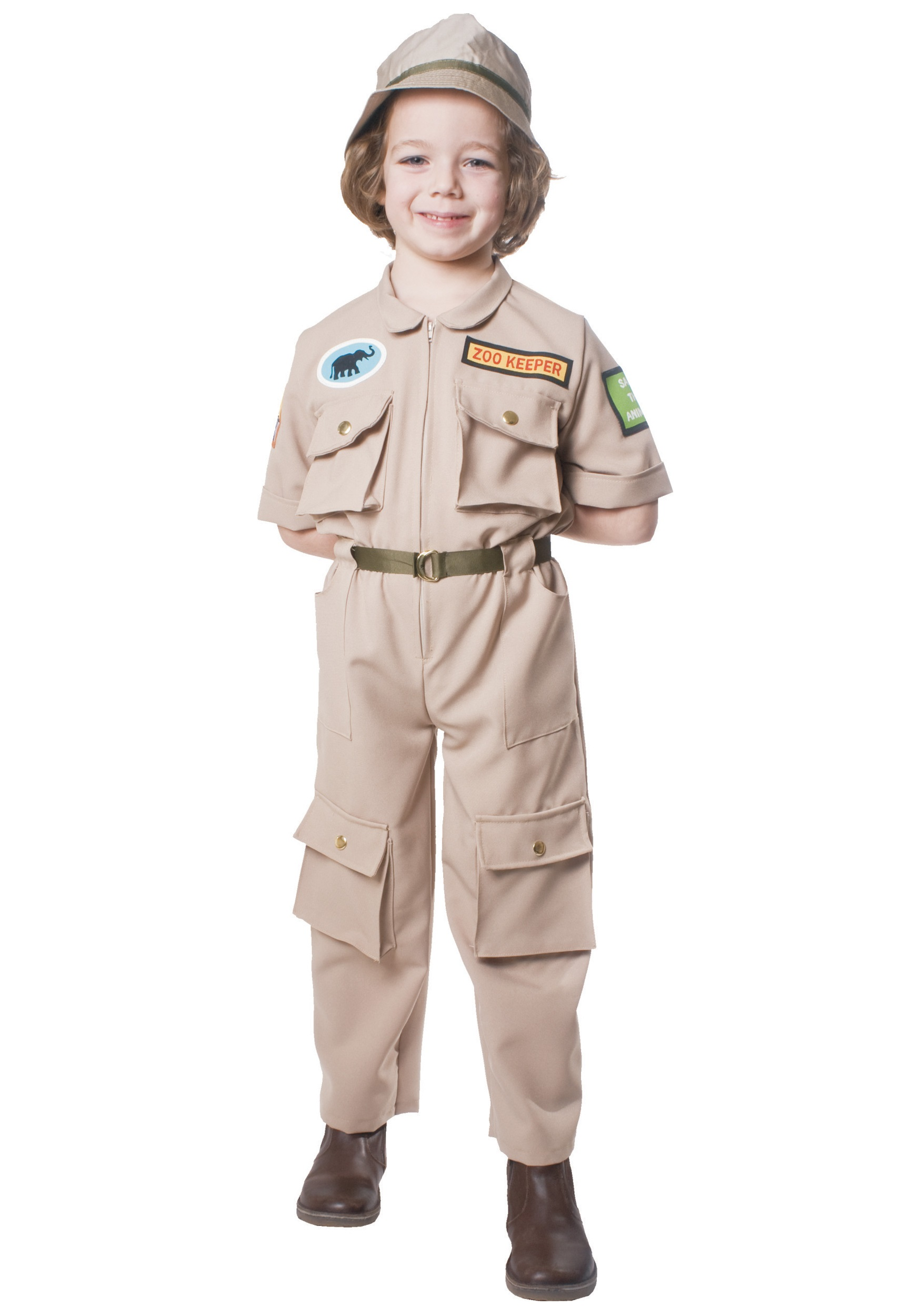 Zoo Keeper Costume For Child