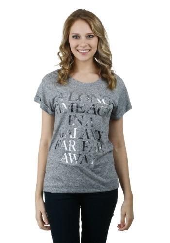 Juniors Star Wars Long Time Ago Cuff T-Shirt