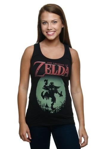 Legend Of Zelda Majora's Mask Juniors Racer Tank