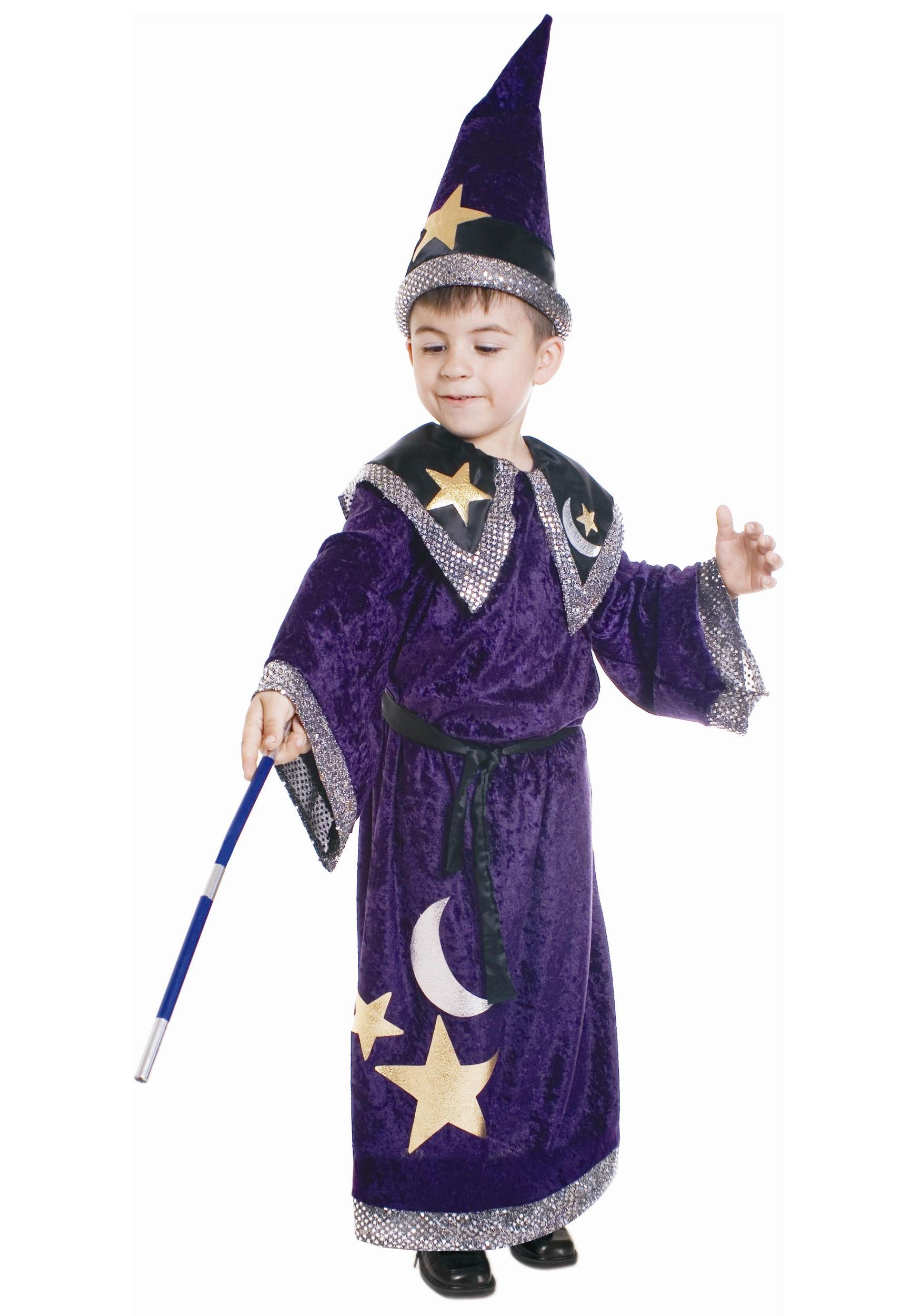 Kids Magical Wizard Costume