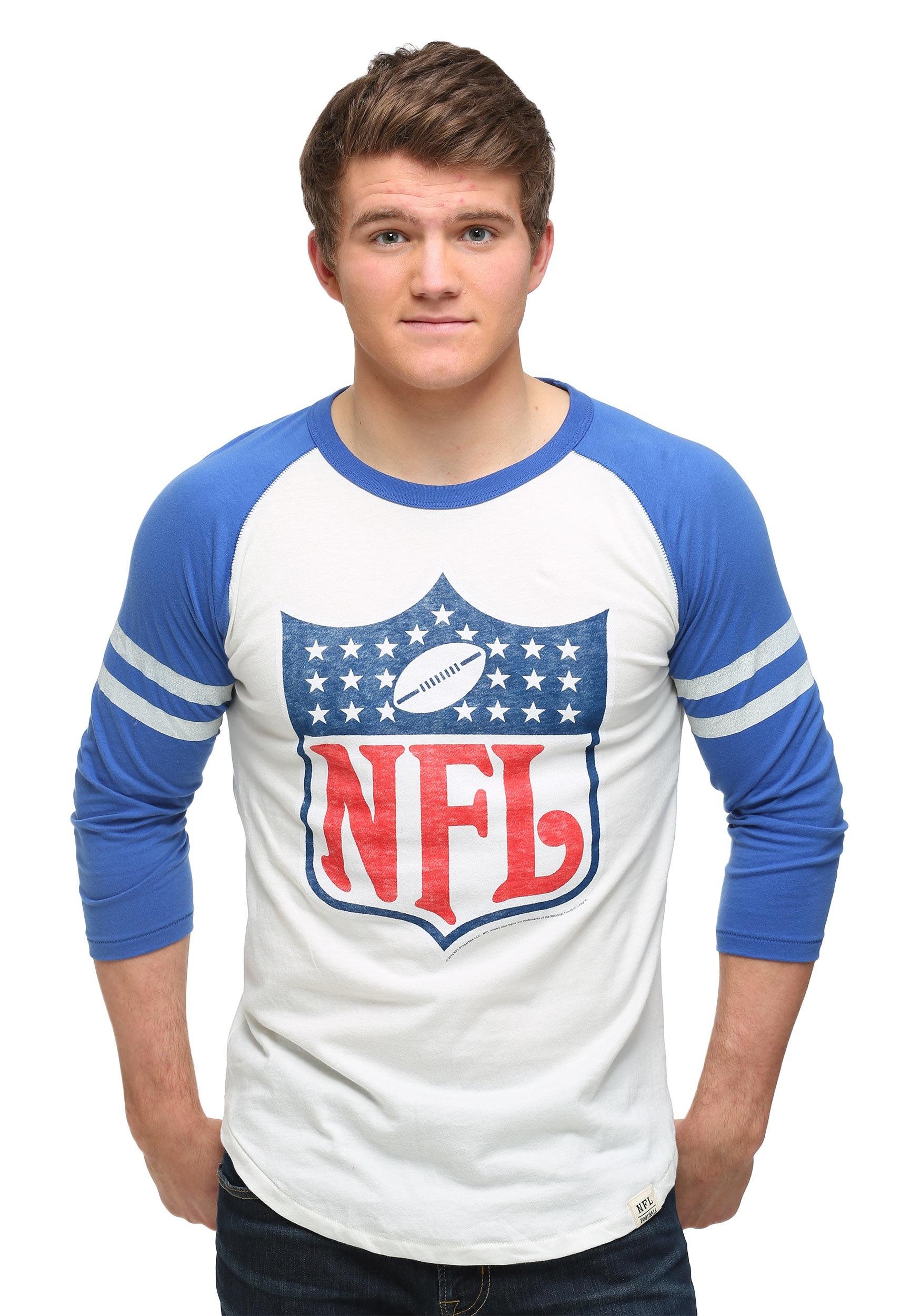 4a3a86ec5 NFL Shield Raglan Shirt