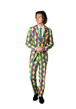OppoSuits Mardi Gras Costume Suit for Men