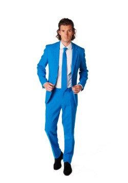 Mens OppoSuits Blue Suit