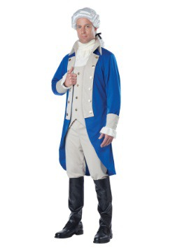 Mens George Washington Costume