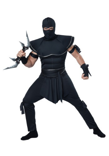 Ninja Warrior Costume For Adults
