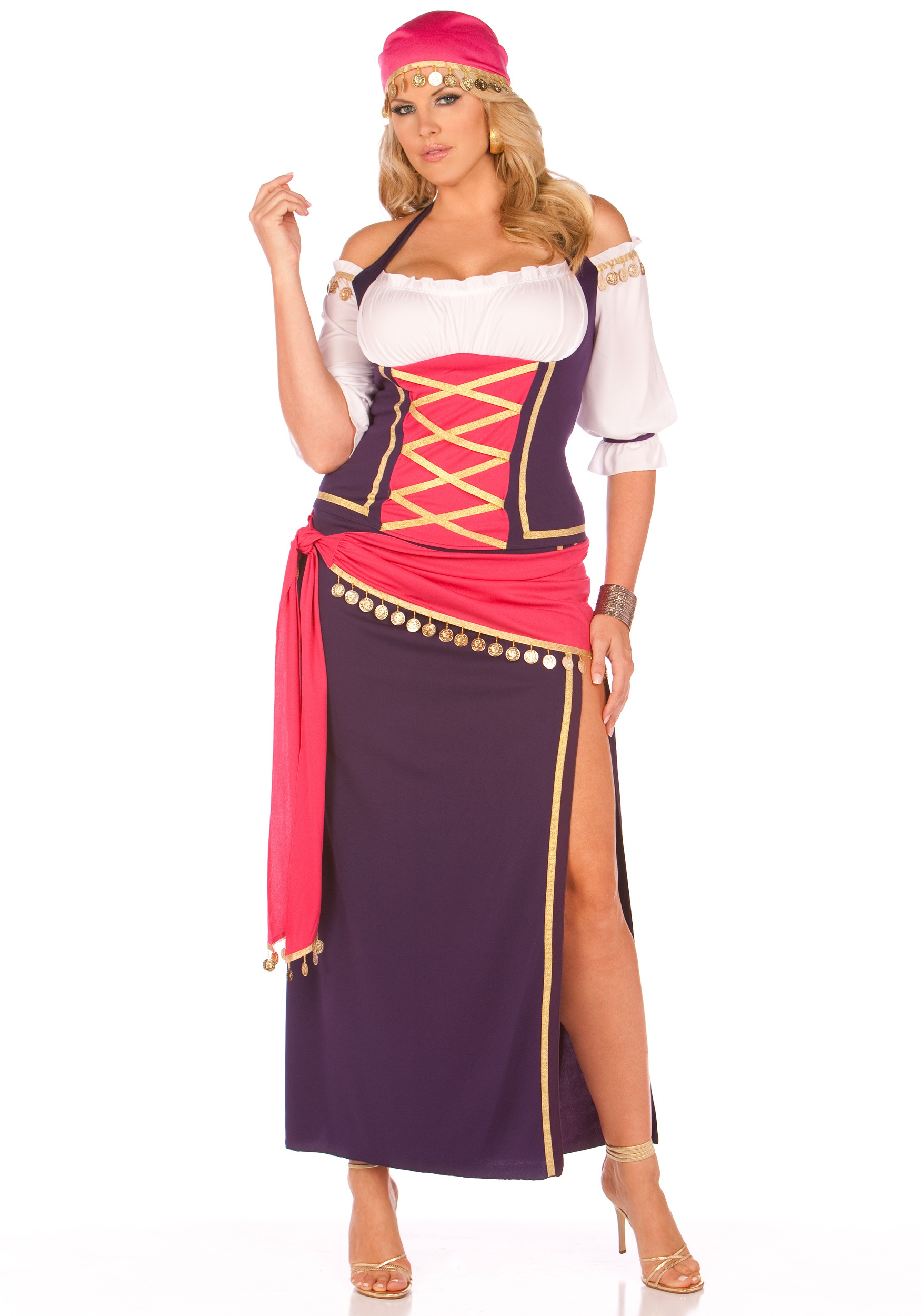 Gypsy Maiden Plus Size Costume  sc 1 st  Fun AU & Tap a jam