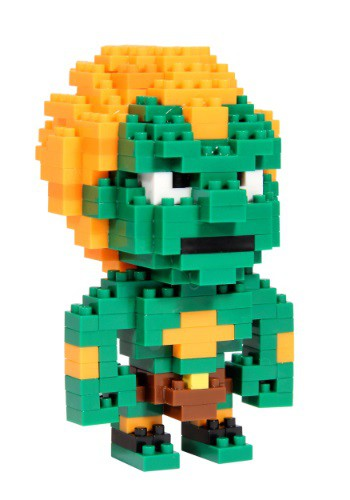 Street Fighter Blanka Pixel Bricks
