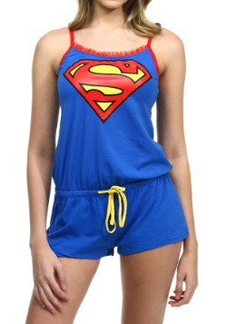 Superman Sleeveless Romper
