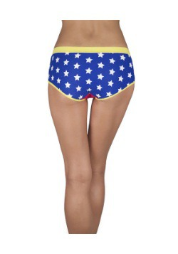 Wonder Woman Panties back
