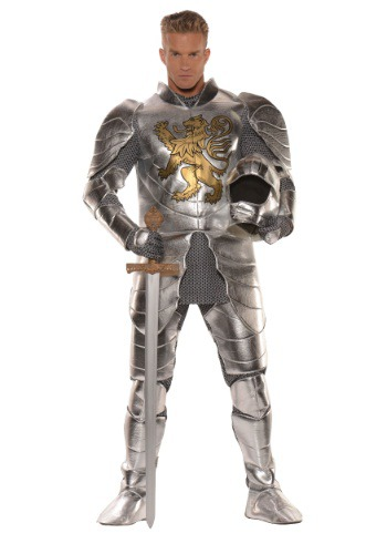 Plus Size Knight in Shining Armor Men's Costume