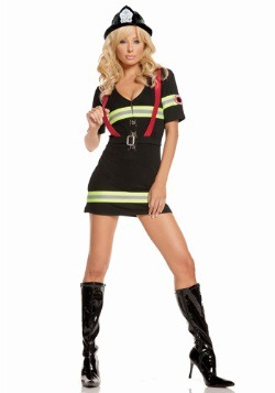 Blazin Hot Firefighter Sexy Costume