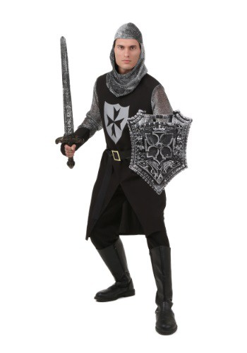 Black Knight Costume For Adults