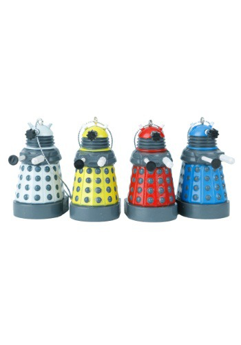Doctor Who Colored Dalek Light Set